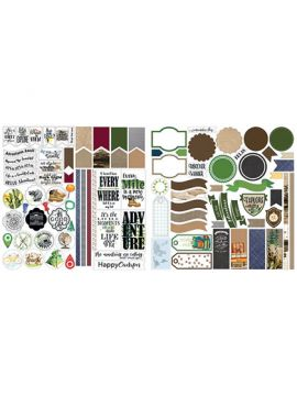 The Great Outdoors Stackable Stickers by Lauren Hinds