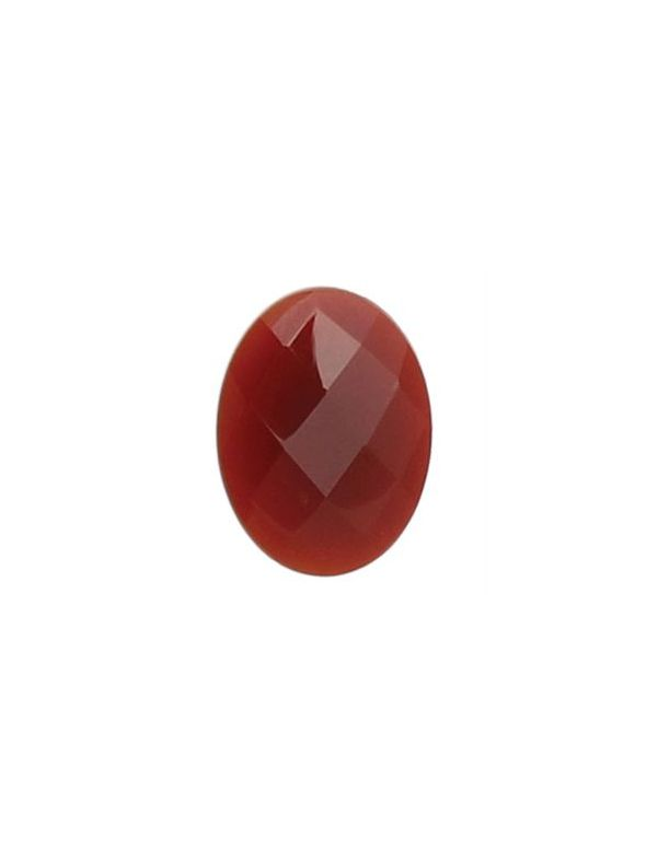 Red Agate Oval Stone