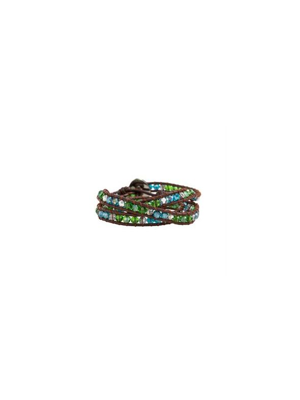 Multi-Colored Japanese Beaded Wrap