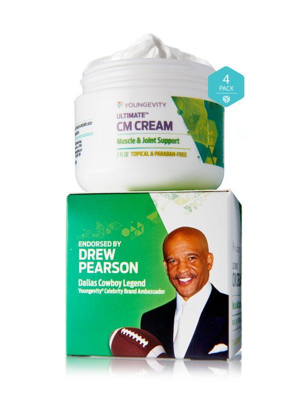 Ultimate CM Cream™ (Paraben-Free) - 2 oz (4 Pack)