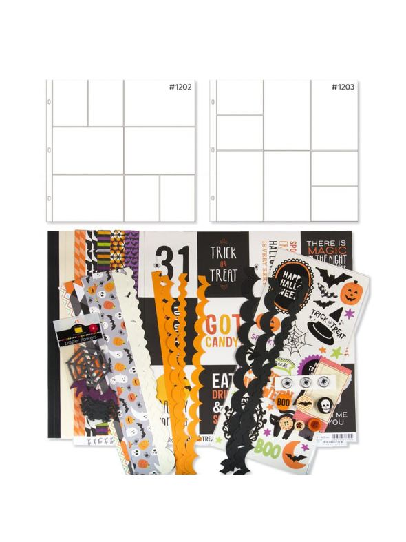 Trick or Treat Kit Sheet Protector Bundle