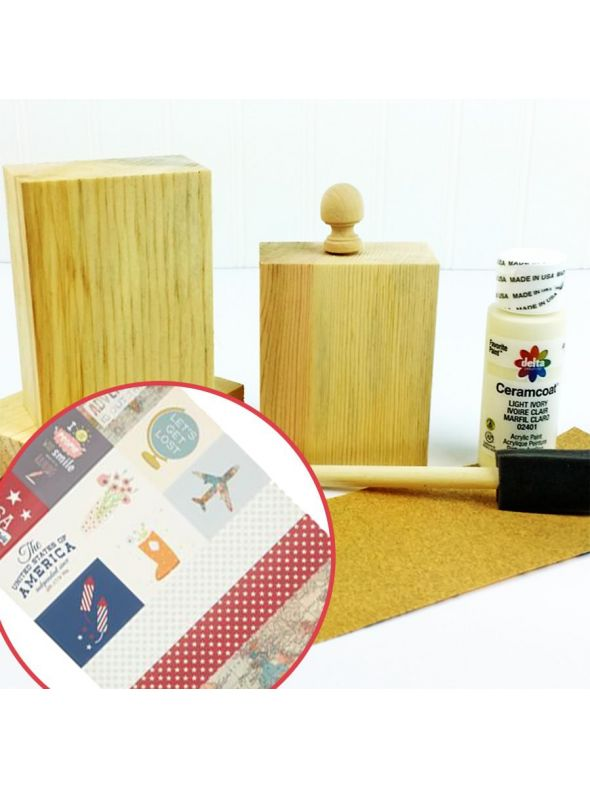 Canvas Set 3 Mantle Block Bundle