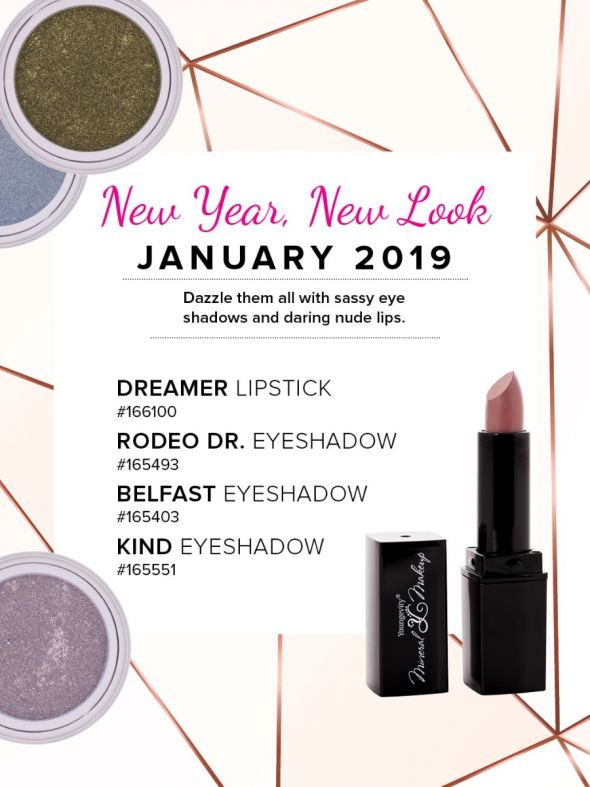 Mineral Makeup of the Month Club - January 2019