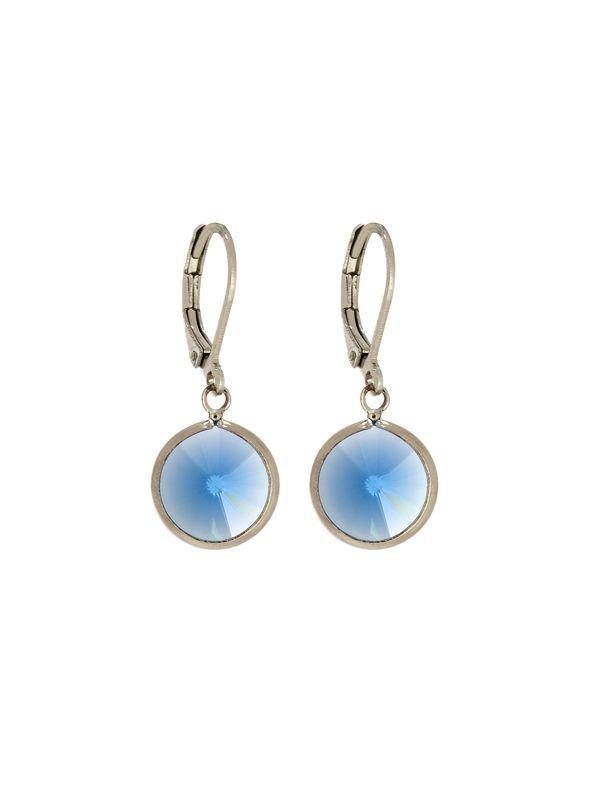 Sapphire Channel Earrings
