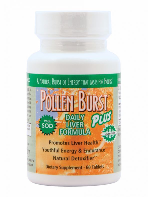 Pollen Burst™ Plus - Daily Liver Formula - 60 tablets