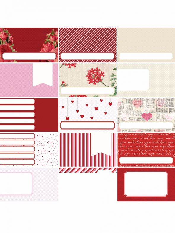 Pocket Love by Katie Pertiet Pocket Journal Cards