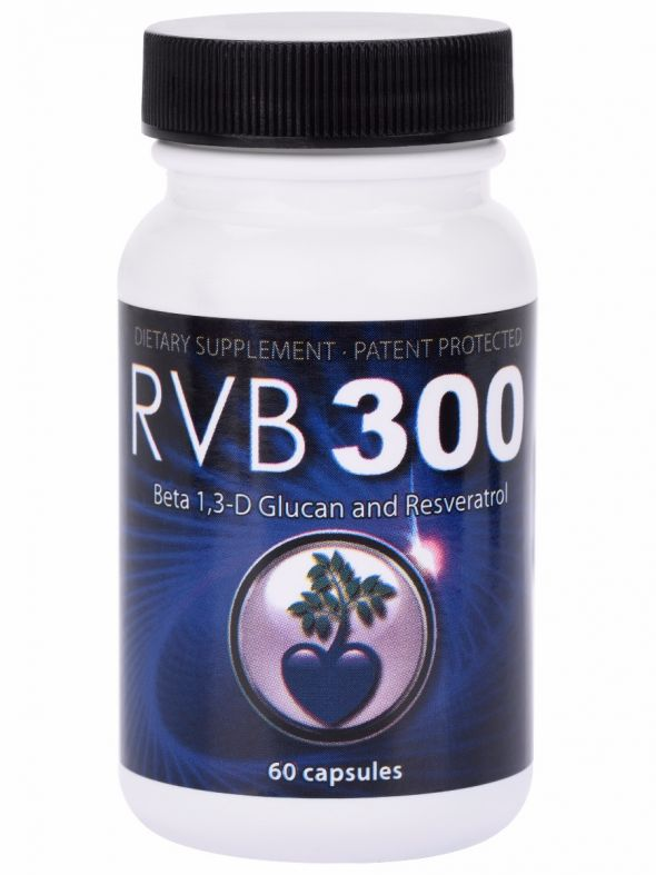 RVB300 (Beta 1, 3-D Glucan Resveratrol Mix)