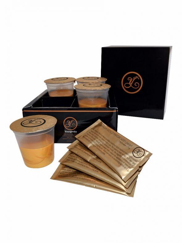 Premium Gold Mask Set (4 Pack)